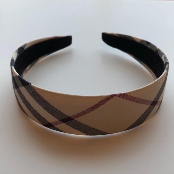 07548899ef7e Burberry Accessories - Burberry Nova Check Headband (1.25in width)